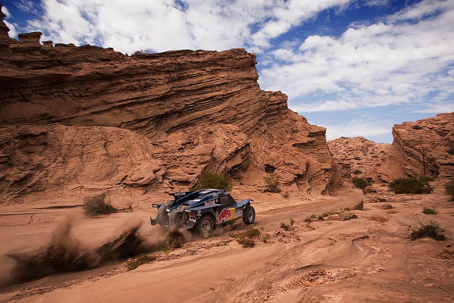 rally Dakar, závod, čtvrtá etapa, San Juan - Chilecito