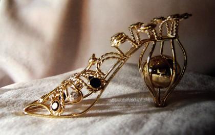 zlaté střevíčky