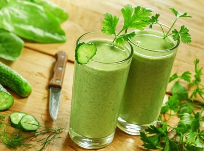 Čistiaci zelený smoothie