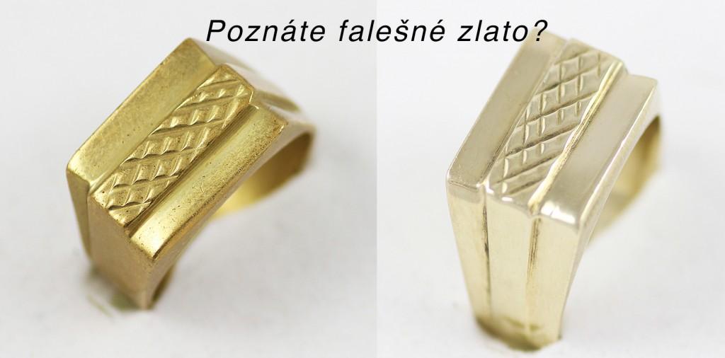 Padělek zlata